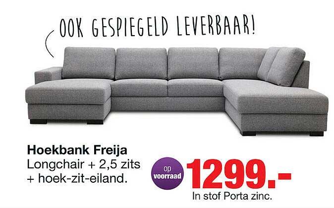 Budget Home Store Hoekbank Freija