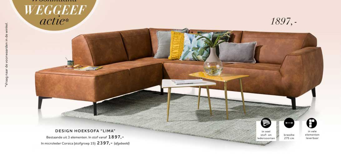Xooon Design Hoeksofa Lima
