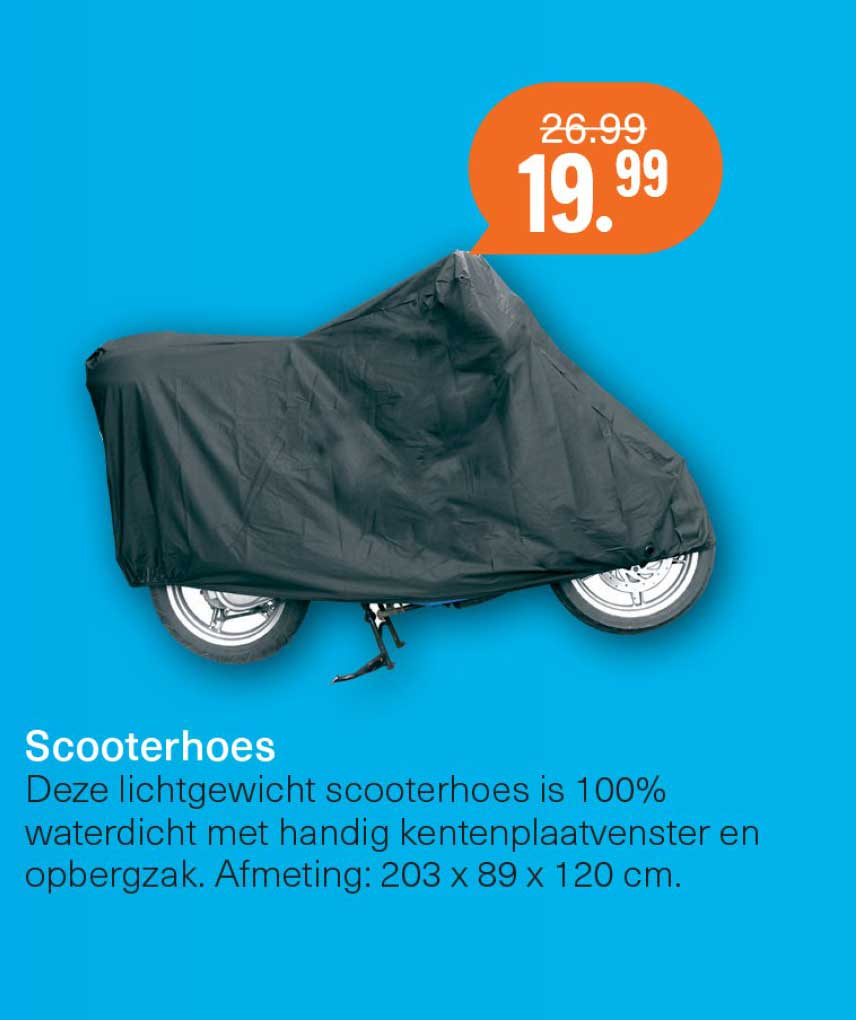 Halfords Scooterhoes