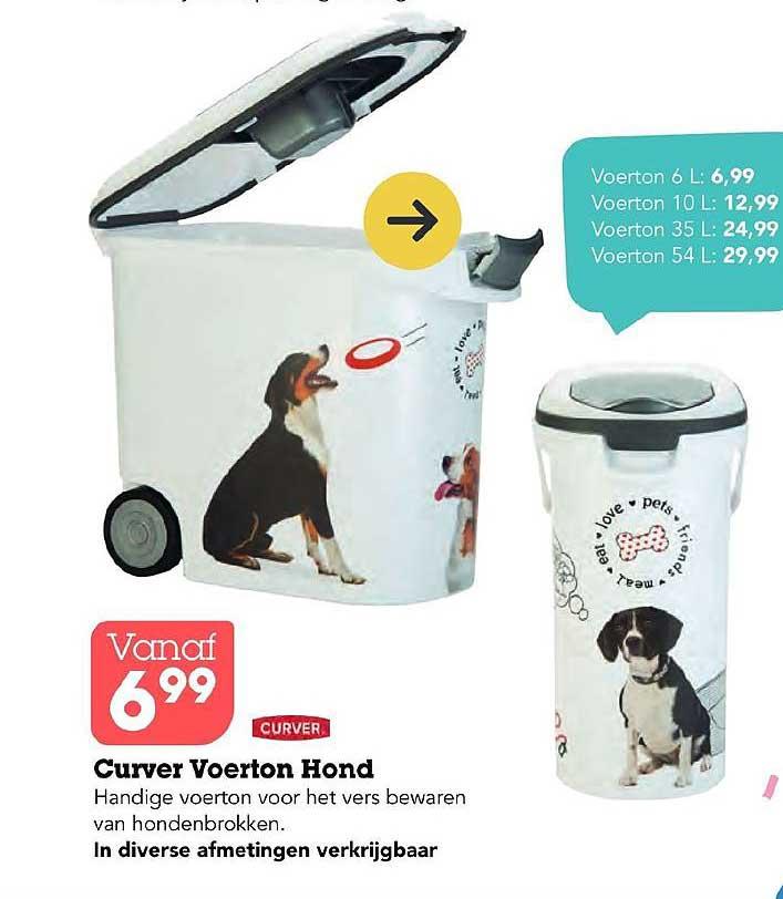 Discus Curver Voerton Hond