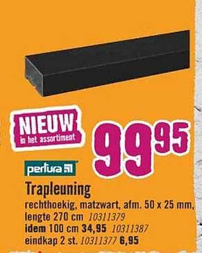 Hornbach Trapleuning
