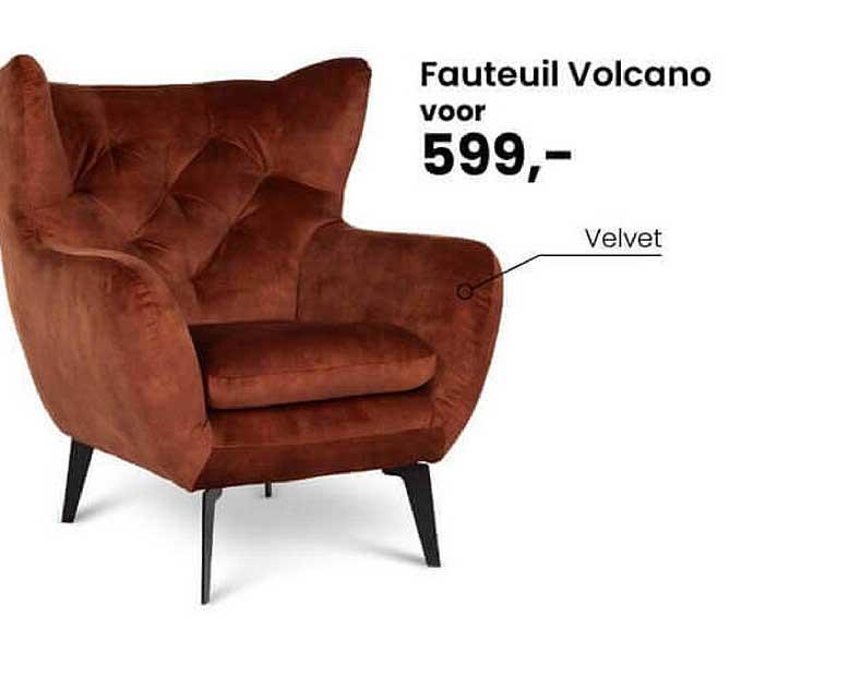 De Bommel Meubelen Fauteuil Volcano