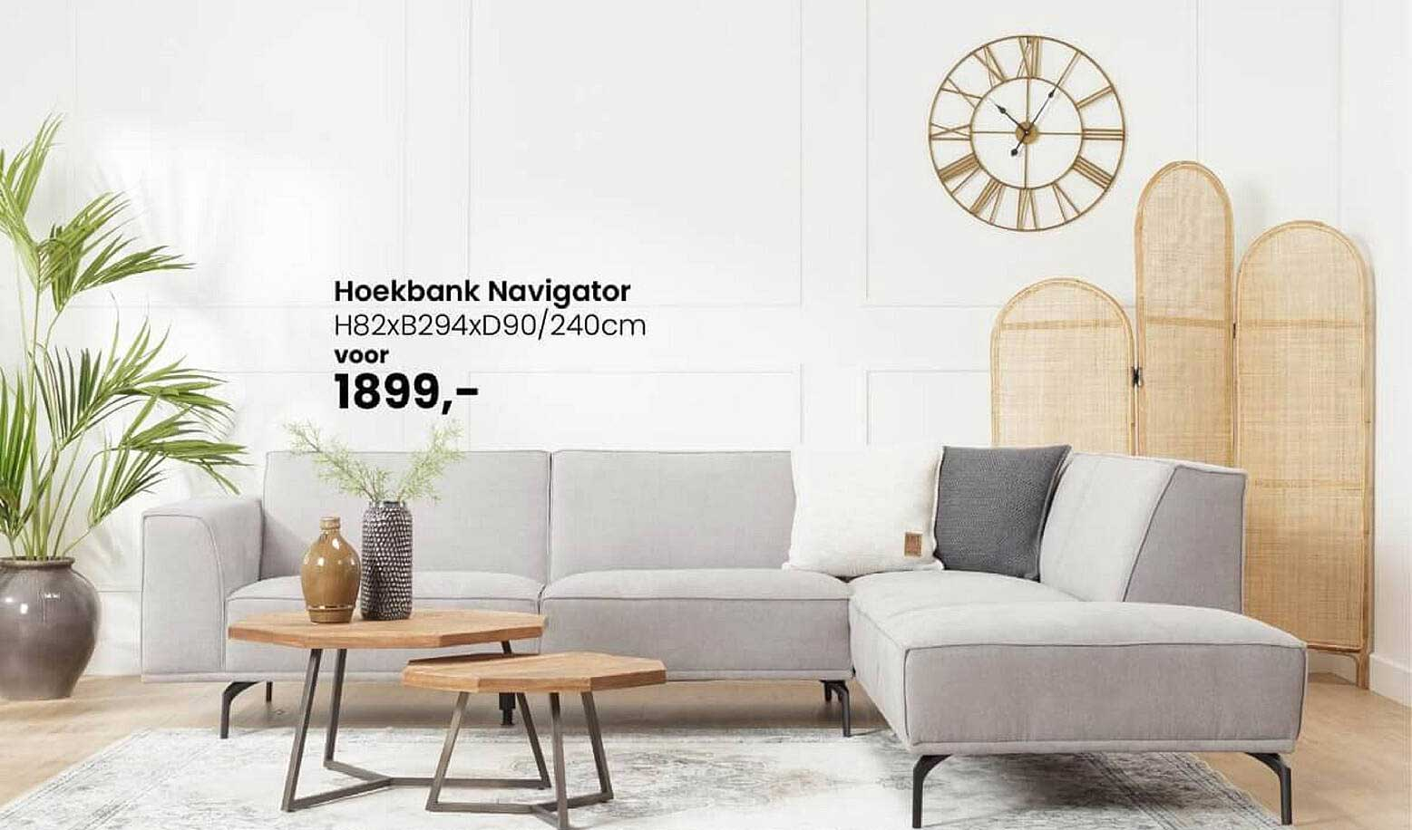De Bommel Meubelen Hoekbank Navigator