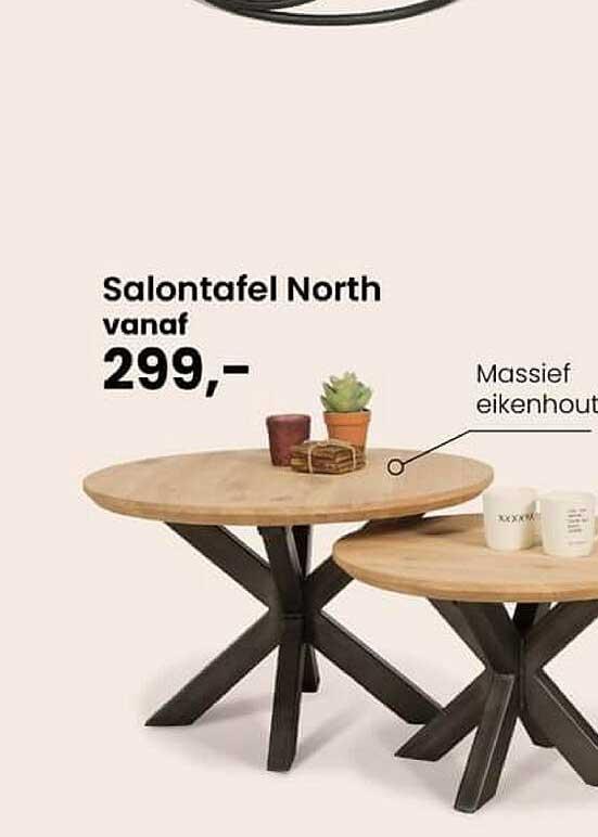 De Bommel Meubelen Salontafel North