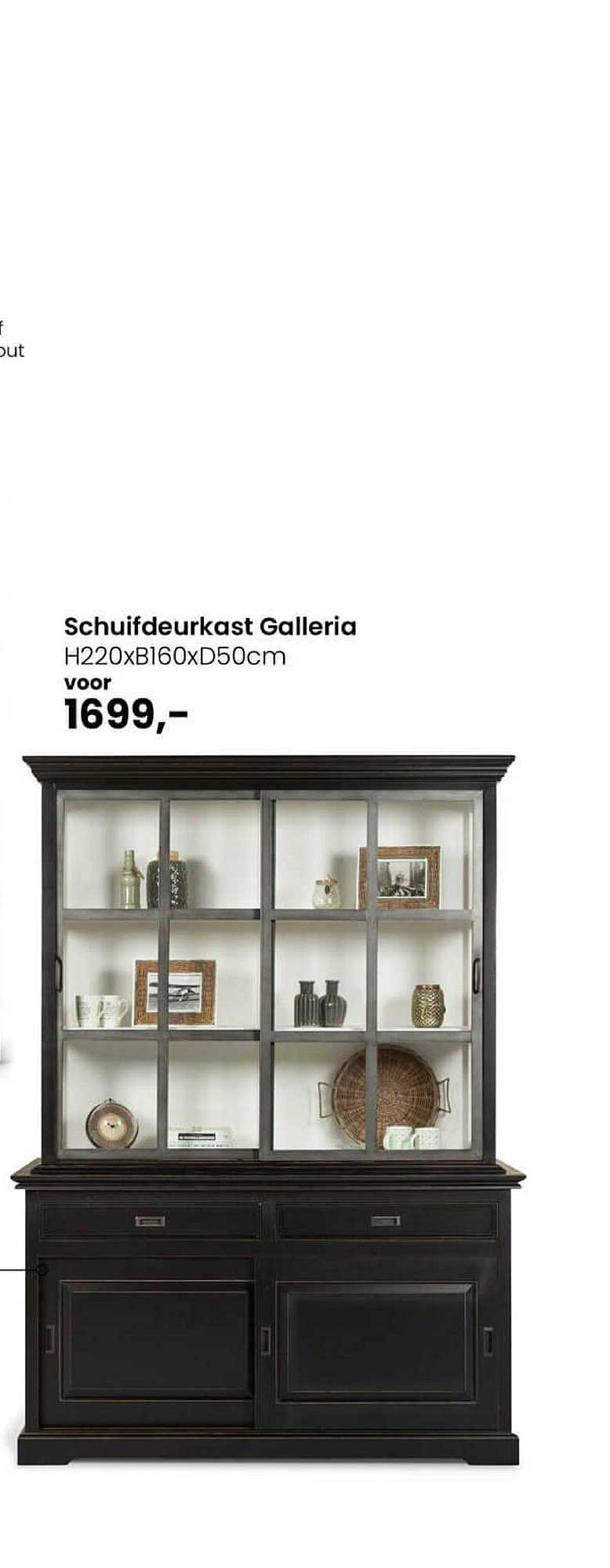De Bommel Meubelen Schuifdeurkast Galleria