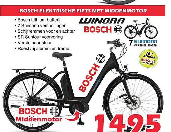 ITEK Bosch Elektrische Fiets Met Middenmotor