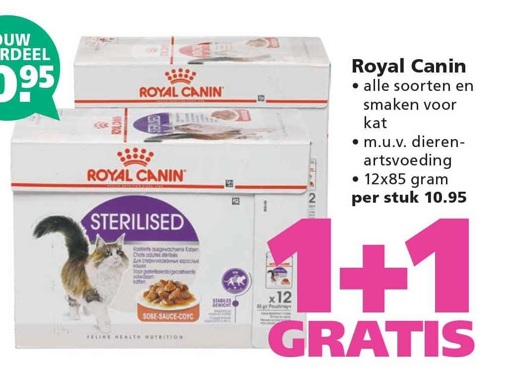 Ranzijn Tuin & Dier Royal Canin: 1+1 Gratis