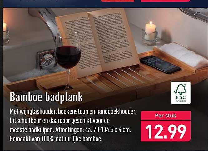 ALDI Bamboe Badplank