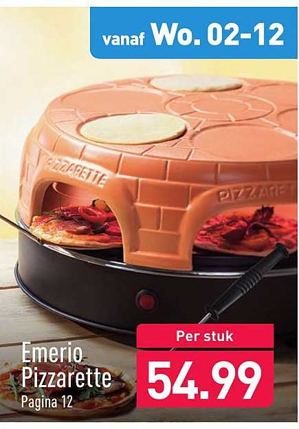 ALDI Emerio Pizzarette