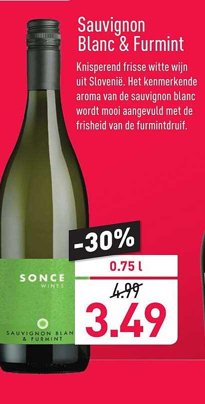 ALDI Sonce Wines Sauvignon Blanc & Furmint