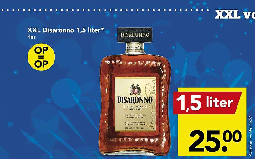 DEEN XXL Disaronno 1,5 Liter