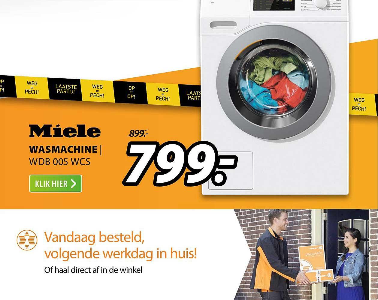 Expert Miele Wasmachine