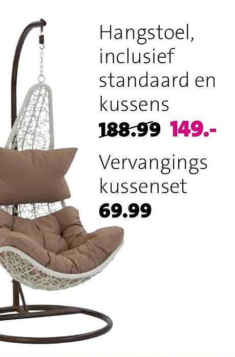 Intratuin Hangstoel, Inclusief Standaard En Kussens