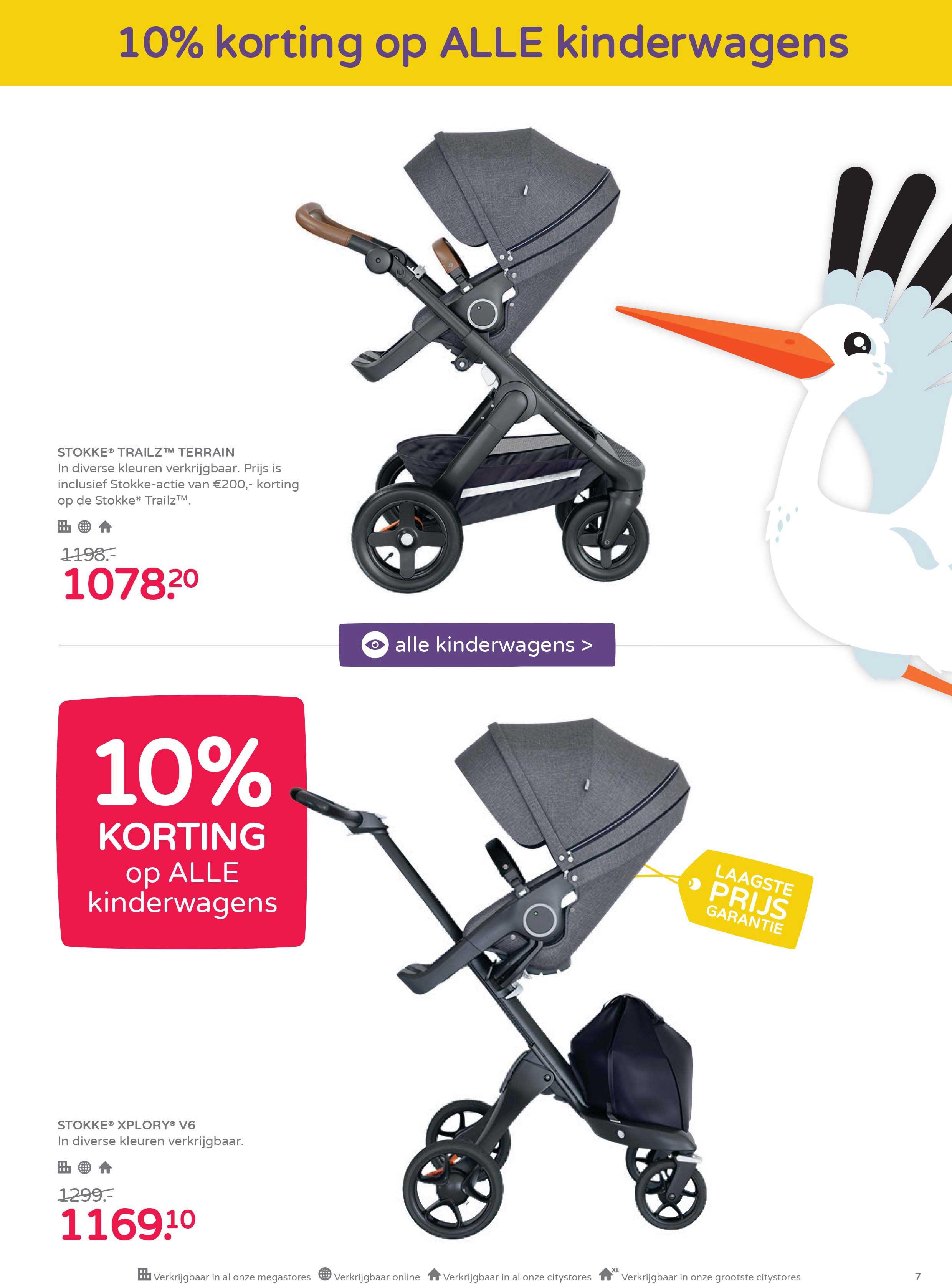Prénatal 10% Korting Op ALLE Kinderwagens