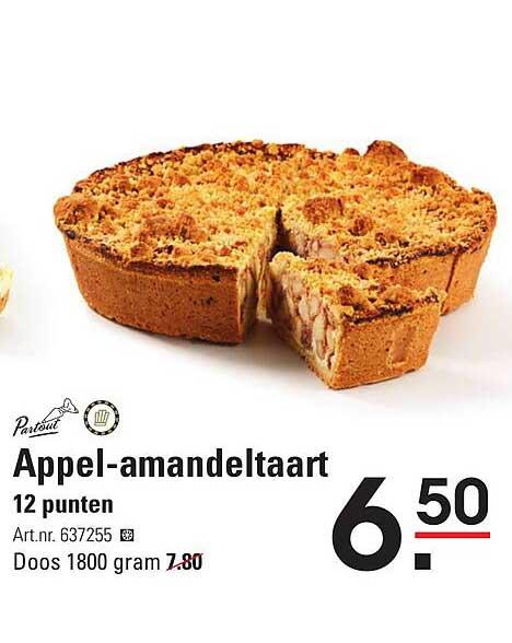 Sligro Appel-Amandeltaart