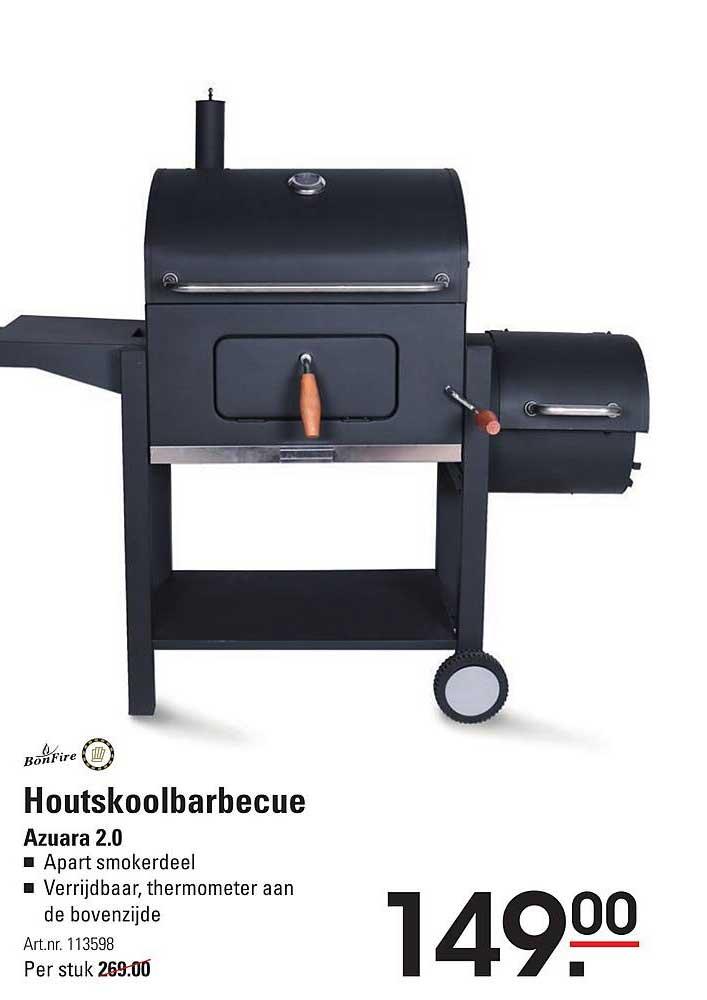 Sligro Bonfire Houtskoolbarbecue Azuara 2.0
