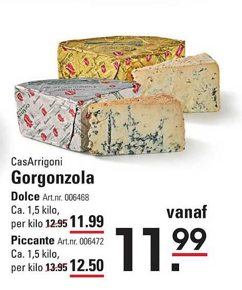 Sligro CasArrigoni Gorgonzola Dolce Of Piccante