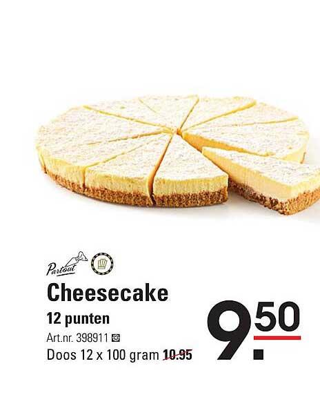 Sligro Cheesecake