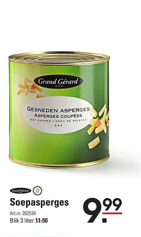 Sligro Grand Gérard Soepasperges