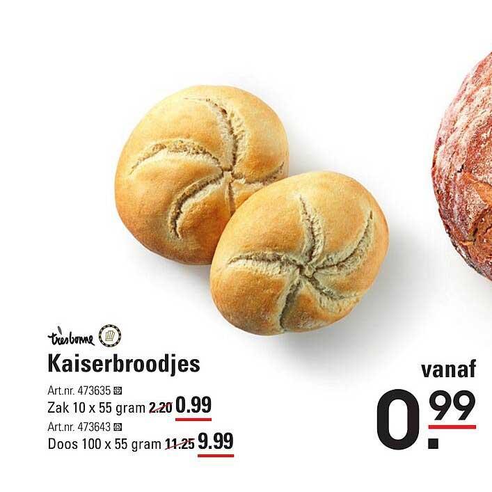 Sligro Kaiserbroodjes