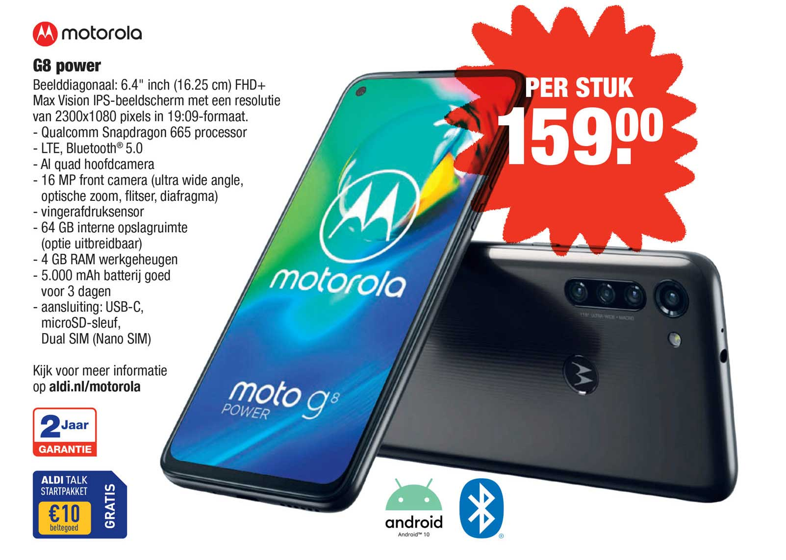 ALDI Motorola G8 Power