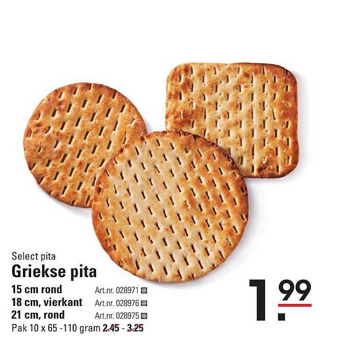 Sligro Select Pita Griekse Pita