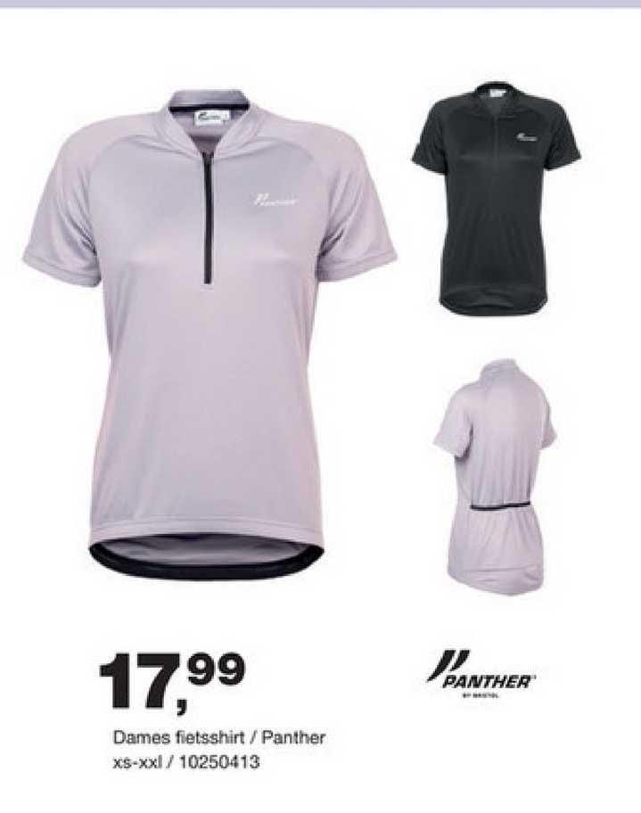 Bristol Dames Fietsshirt - Panther