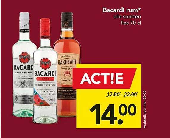 DEEN Bacardi Rum