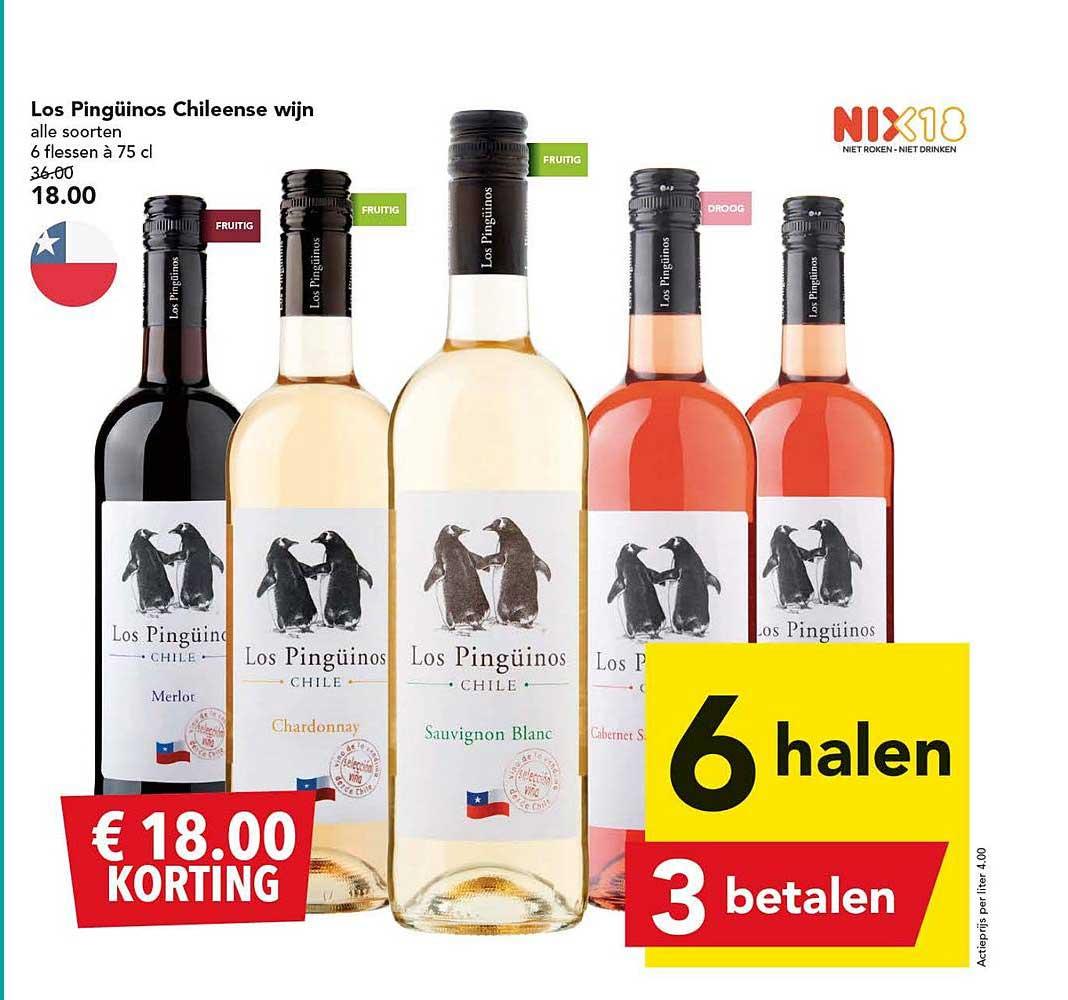 DEEN Los Pinguinos Chileense Wijn