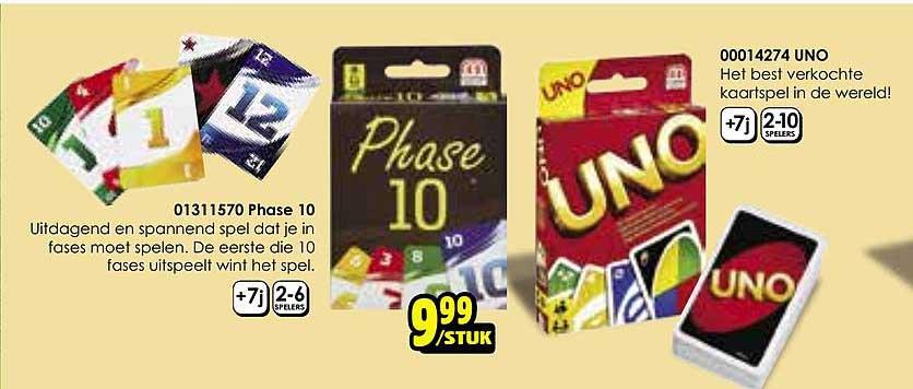 Toychamp Phase 10, UNO
