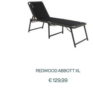 Vrijbuiter Redwood Abbott XL