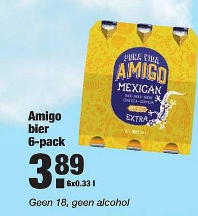 ALDI Amigo Bier 6-Pack