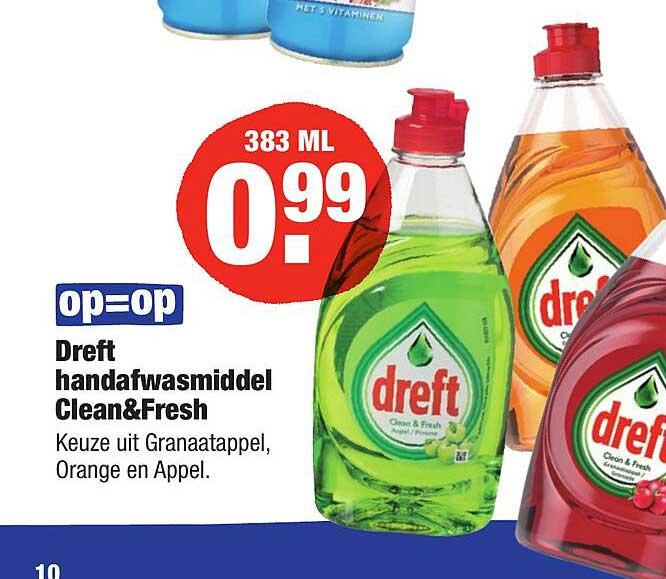 ALDI Dreft Handafwasmiddel Clean& Fresh