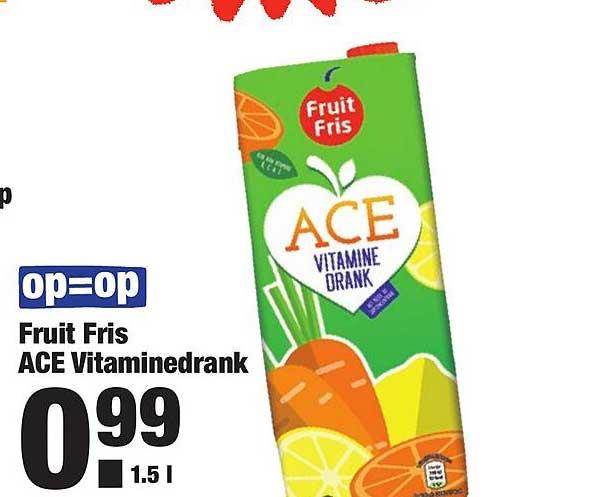 ALDI Fruit Fris Ace Vitaminedrank