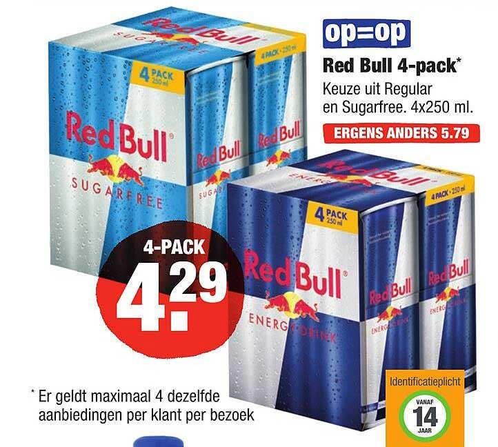 ALDI Red Bull 4-Pack