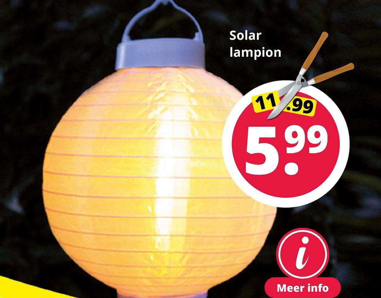 GroenRijk Solar Lampion