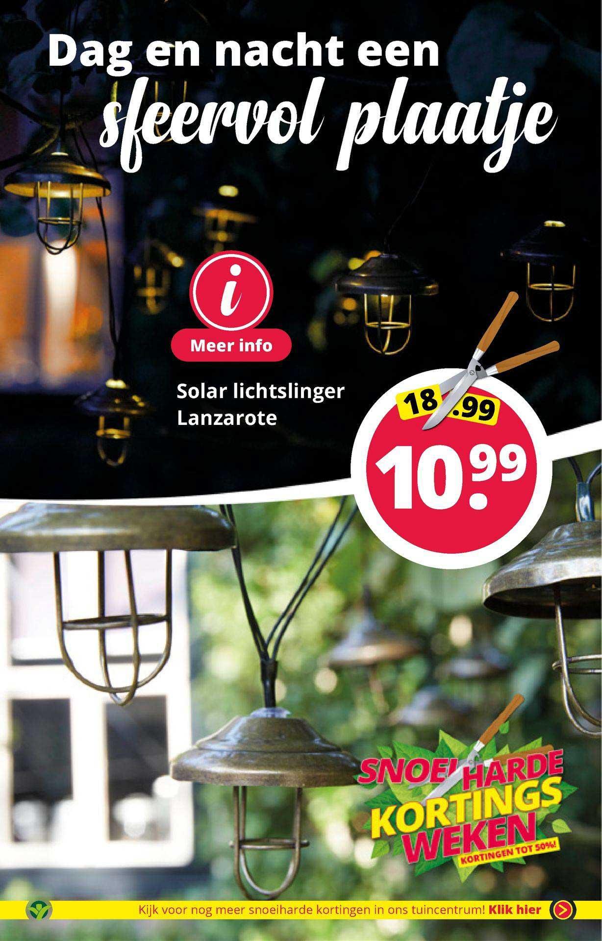 GroenRijk Solar Lichtslinger Lanzarote