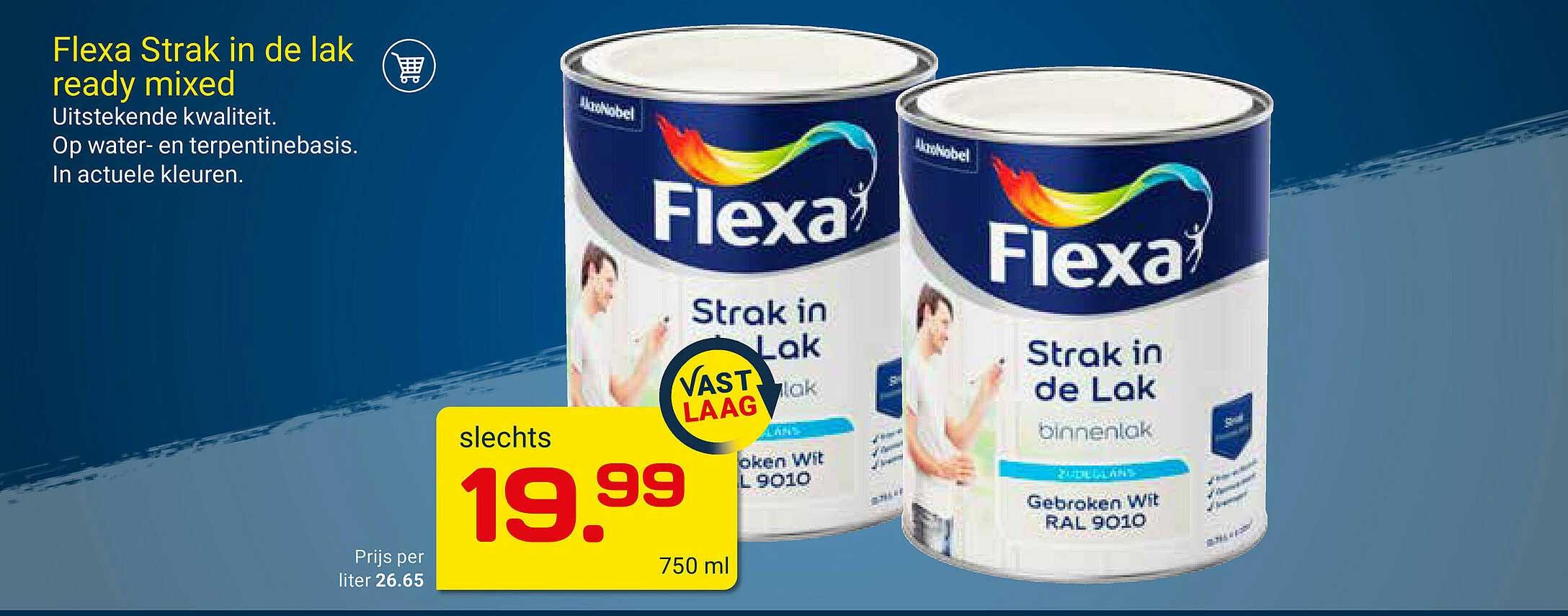 KlusWijs Flexa Strak In De Lak Ready Mixed