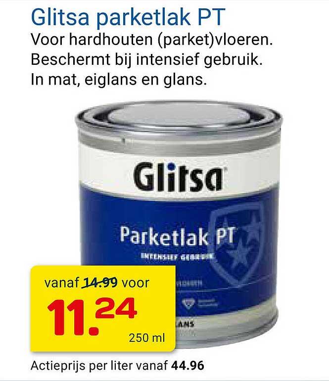 KlusWijs Glitsa Parketlak PT