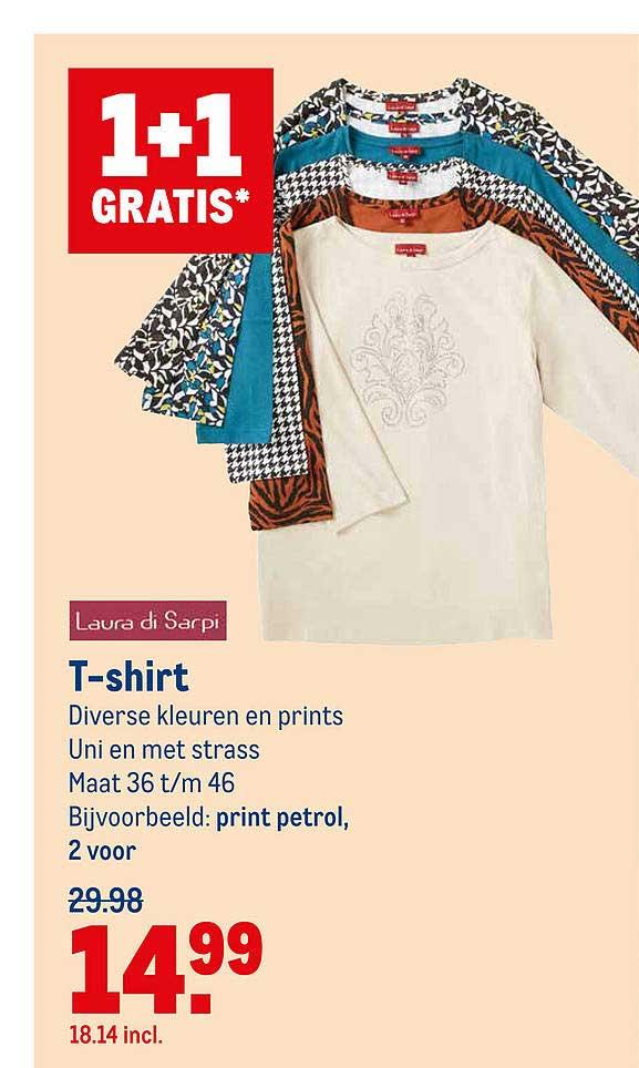 Makro Laura Di Sarpi T-Shirt 1+1 Gratis