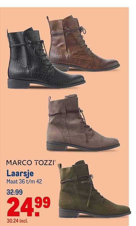Makro Marco Tozzi Laarsje