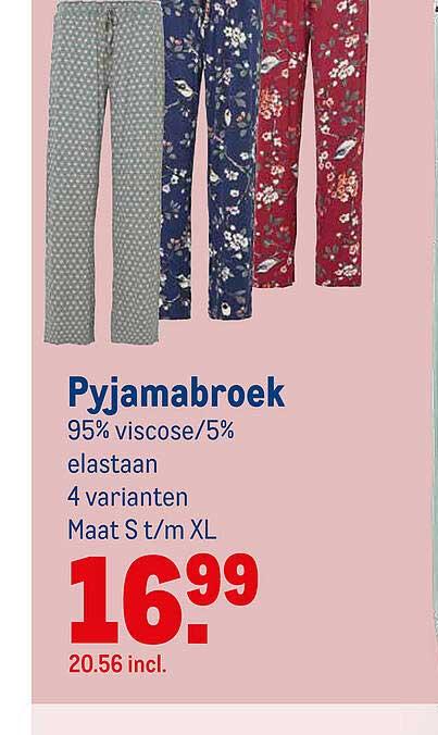 Makro Pyjamabroek