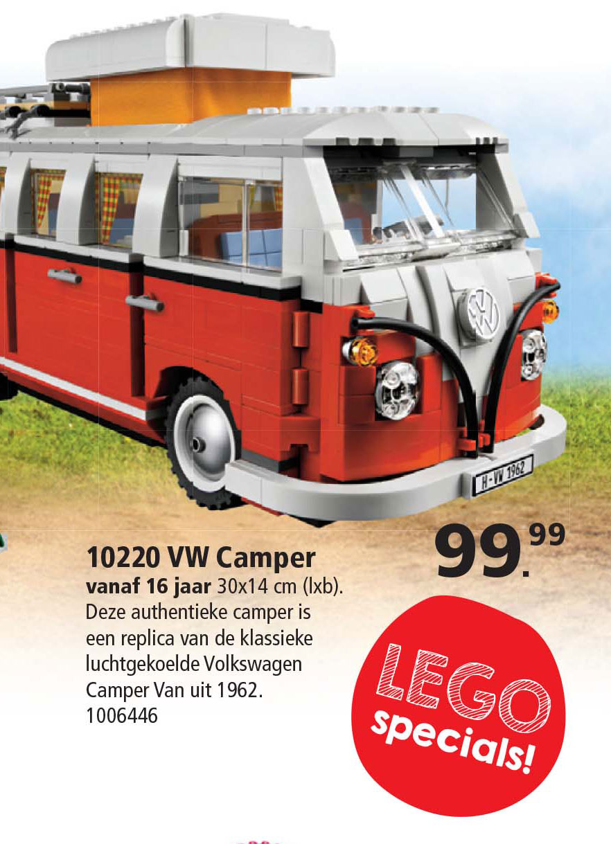Intertoys Lego Creator Vw Camper