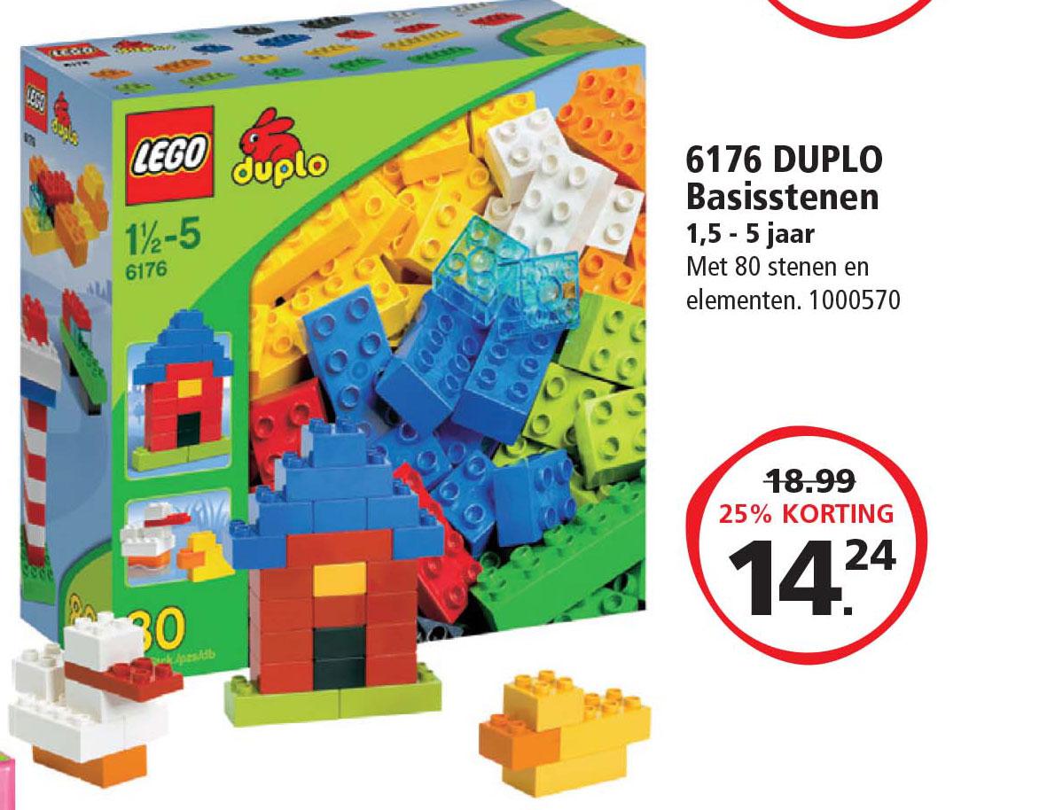 Intertoys Lego Duplo 6176 Duplo Basisstenen