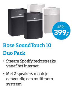 Coolblue Bose Soundtouch 10 Duo Pack