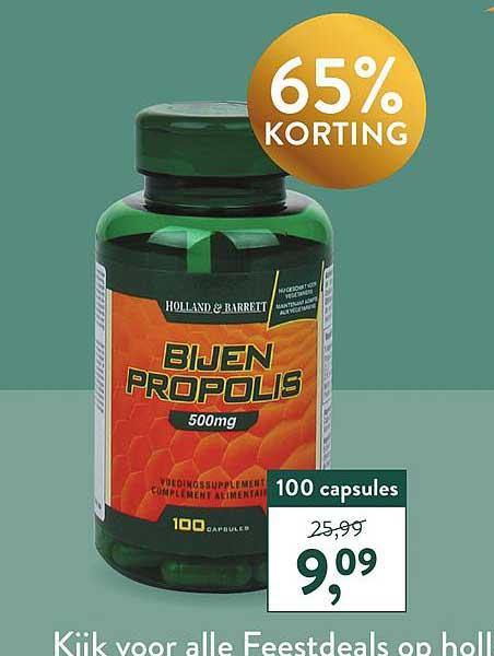 Holland & Barrett Holland & Barrett Bijen Propolis 65% Korting