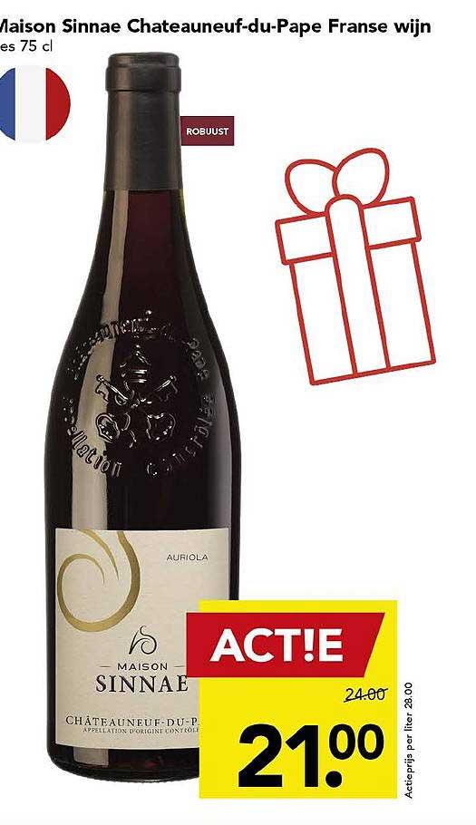 DEEN Maison Sinnae Chateauneuf Du Pape Franse Wijn