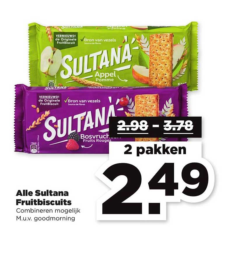 PLUS Alle Sultana Fruitbiscuits