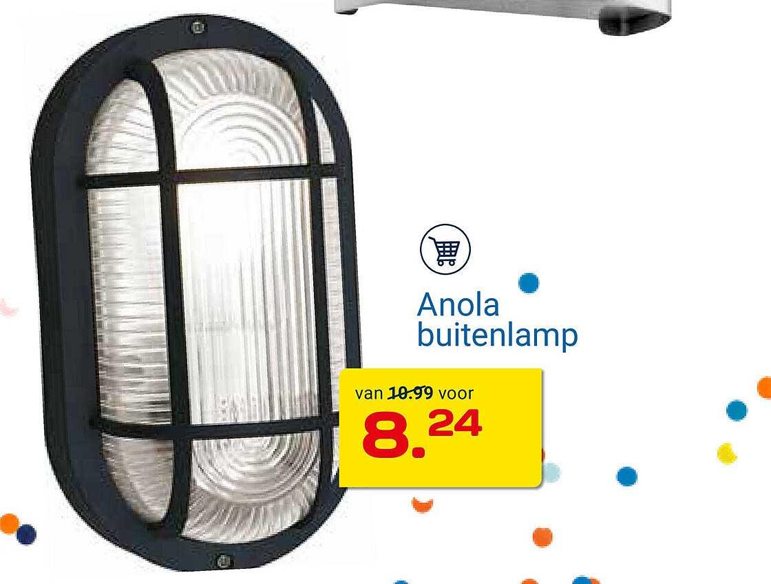KlusWijs Anola Buitenlamp