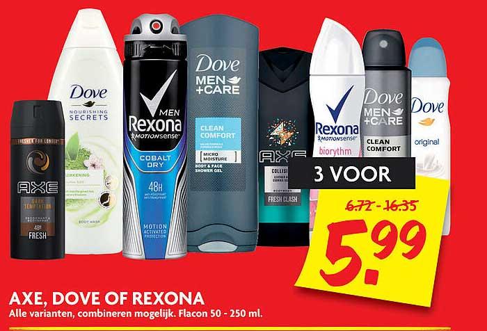 DekaMarkt Axe, Dove Of Rexona